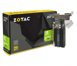 Karta graficzna NVIDIA Zotac GeForce GT 710 ZONE Edition 2GB DDR3