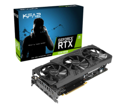 Karta graficzna NVIDIA KFA2 GeForce RTX 2080 SUPER EX Gamer Black 8GB GDDR6