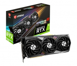 Karta graficzna NVIDIA MSI GeForce RTX 3080 GAMING X TRIO 10GB GDDR6X
