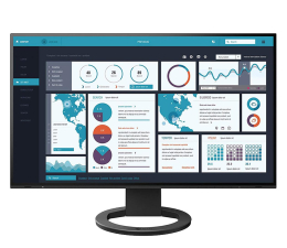 "Monitor LED 24"" Eizo FlexScan EV2495-BK"