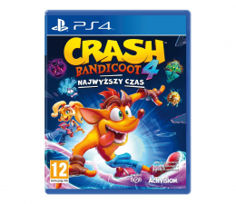 Gra na PlayStation 4 PlayStation Crash Bandicoot™ 4: Najwyższy Czas