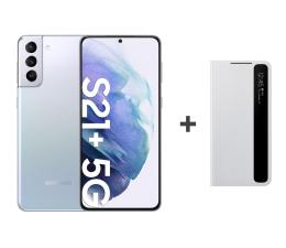Smartfon / Telefon Samsung Galaxy S21+ 8/256 Dual SIM Silver+Clear View Cover