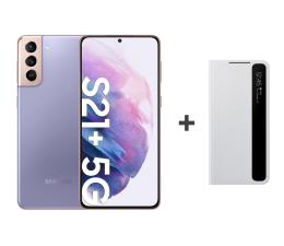 Smartfon / Telefon Samsung Galaxy S21+ 8/128 Dual SIM Violet+Clear View Cover