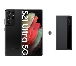Smartfon / Telefon Samsung Galaxy S21 Ultra 12/256 Black + Clear View Cover