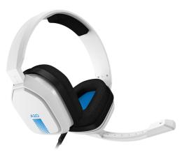 Słuchawki przewodowe ASTRO A10 dla PS4, Xbox, PC biało niebieskie