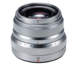 Obiektywy stałoogniskowy Fujifilm Fujinon XF 35mm f/2.0 R WR srebrny
