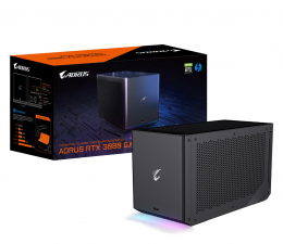 Zewnętrzna karta graficzna Gigabyte GeForce RTX 3080 GAMING BOX WF 10GB GDDR6X