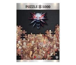 Puzzle z gier Good Loot Wiedźmin: Birthday puzzles 1000