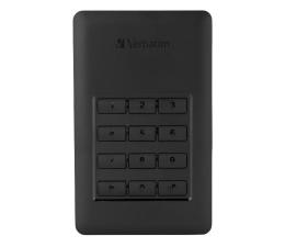 Dysk zewnętrzny HDD Verbatim Store 'n' Go Secure 1TB USB 3.2 Gen. 1 Czarny