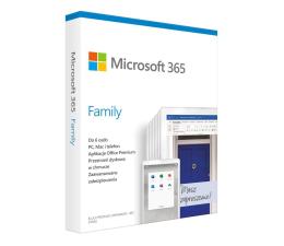 Program biurowy Microsoft 365 Family | zakup z komputerem + 3m.