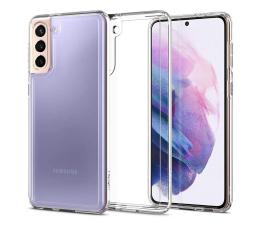 Etui / obudowa na smartfona Spigen Ultra Hybrid do Samsung Galaxy S21 clear