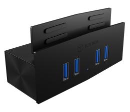 Hub USB ICY BOX HUB USB 3.0 - 4x USB (mocowanie do biurka)