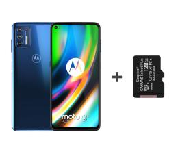 Smartfon / Telefon Motorola Moto G9 Plus 4/128GB Navy Blue + 128GB
