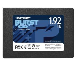 "Dysk SSD Patriot 1,92TB 2,5"" SATA SSD BURST ELITE"