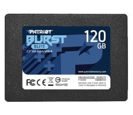 "Dysk SSD Patriot 120GB 2,5"" SATA SSD BURST ELITE"
