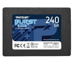 "Dysk SSD Patriot 240GB 2,5"" SATA SSD BURST ELITE"