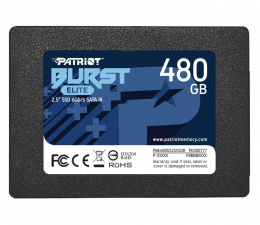 "Dysk SSD Patriot 480GB 2,5"" SATA SSD BURST ELITE"
