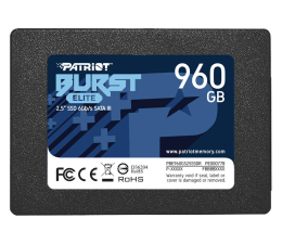 "Dysk SSD Patriot 960GB 2,5"" SATA SSD BURST ELITE"