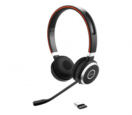 Słuchawki biurowe, callcenter Jabra Evolve 65 Duo MS