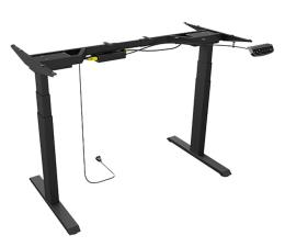 Biurko gamingowe ICY BOX Stelaż pod biurko (Elektryczna regulacja wys.)