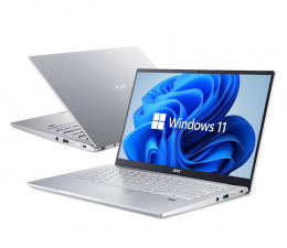 "Notebook / Laptop 14,1"" Acer Swift 3 i5-1135G7/16GB/512/W11 Srebrny Intel Evo"