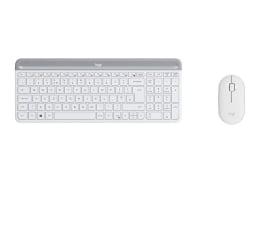 Zestaw klawiatura i mysz Logitech MK470 biały