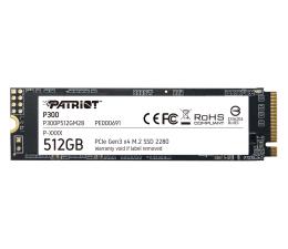 Dysk SSD Patriot 512GB M.2 PCIe NVMe P300
