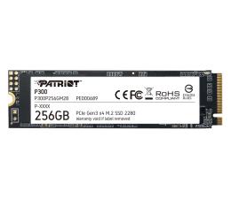 Dysk SSD Patriot 256GB M.2 PCIe NVMe P300