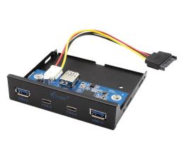 Kontroler i-tec Panel przedni wewnętrzny USB USB-C / USB 3.0