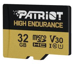 Karta pamięci microSD Patriot 32GB microSDHC High Endurance UHS-I U1 V30