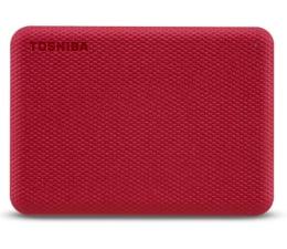 Dysk zewnętrzny HDD Toshiba Canvio Advance 1TB USB 3.2 Czerwony