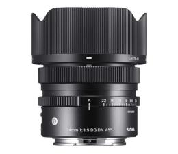 Obiektywy stałoogniskowy Sigma C 24mm f3.5 DG DN Sony E