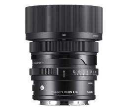 Obiektywy stałoogniskowy Sigma C 35mm f2 DG DN Sony E