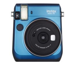 Aparat natychmiastowy Fujifilm Instax Mini 70 niebieski + wkłady 2x10+ etui