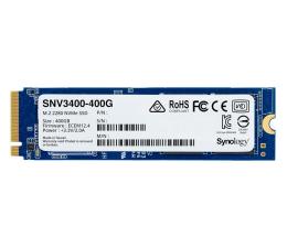 Dysk SSD Synology 400GB M.2 PCIe NVMe SNV3400