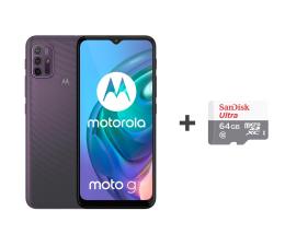 Smartfon / Telefon Motorola Moto G10 4/64GB Aurora Gray + 64GB