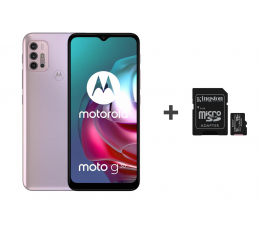 Smartfon / Telefon Motorola Moto G30 6/128GB Pastel Sky 90Hz + 128GB