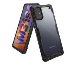 Etui / obudowa na smartfona Ringke Fusion X do Samsung Galaxy M31s czarny