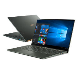 "Notebook / Laptop 14,1"" Acer Swift 5 i7-1165G7/16GB/1TB/W10 MX350 Dotyk Zielony"