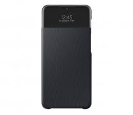 Etui / obudowa na smartfona Samsung S View Wallet Cover do Galaxy A32 5G czarny