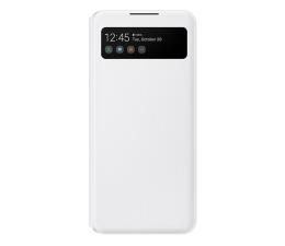 Etui / obudowa na smartfona Samsung S View Wallet Cover do Galaxy A42 5G biały