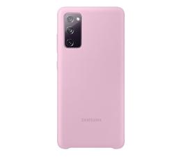 Etui / obudowa na smartfona Samsung Silicone Cover do Galaxy S20 FE różowe