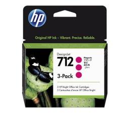 Tusz do drukarki HP 712 magenta 29ml 3-Pack
