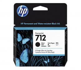 Tusz do drukarki HP 712 3ED71A black 80ml