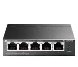 Switch TP-Link 5p TL-SG105PE (5x10/100/1000Mbit, 4xPoE+)