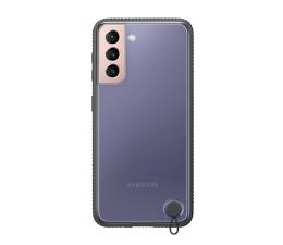 Etui / obudowa na smartfona Samsung Clear Protective Cover do Galaxy S21 Black