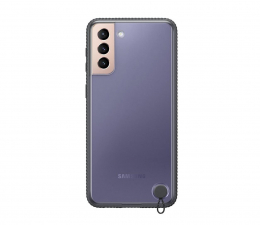 Etui / obudowa na smartfona Samsung Clear Protective Cover do Galaxy S21+ Black
