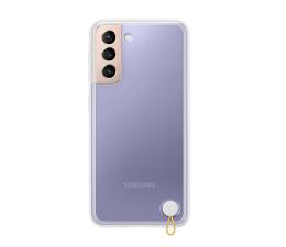 Etui / obudowa na smartfona Samsung Clear Protective Cover do Galaxy S21 White