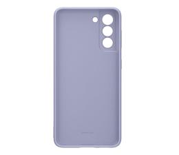 Etui / obudowa na smartfona Samsung Silicone Cover do Galaxy S21 Violet