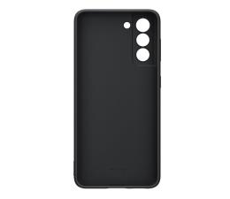 Etui / obudowa na smartfona Samsung Silicone Cover do Galaxy S21 Black